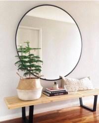 30 Best Ideas of Large Black Round Mirrors