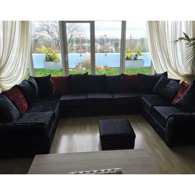 15 Best Collection Of Black Velvet Sofas