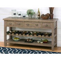 20 Best Ideas of White Sideboard With Wine Rack