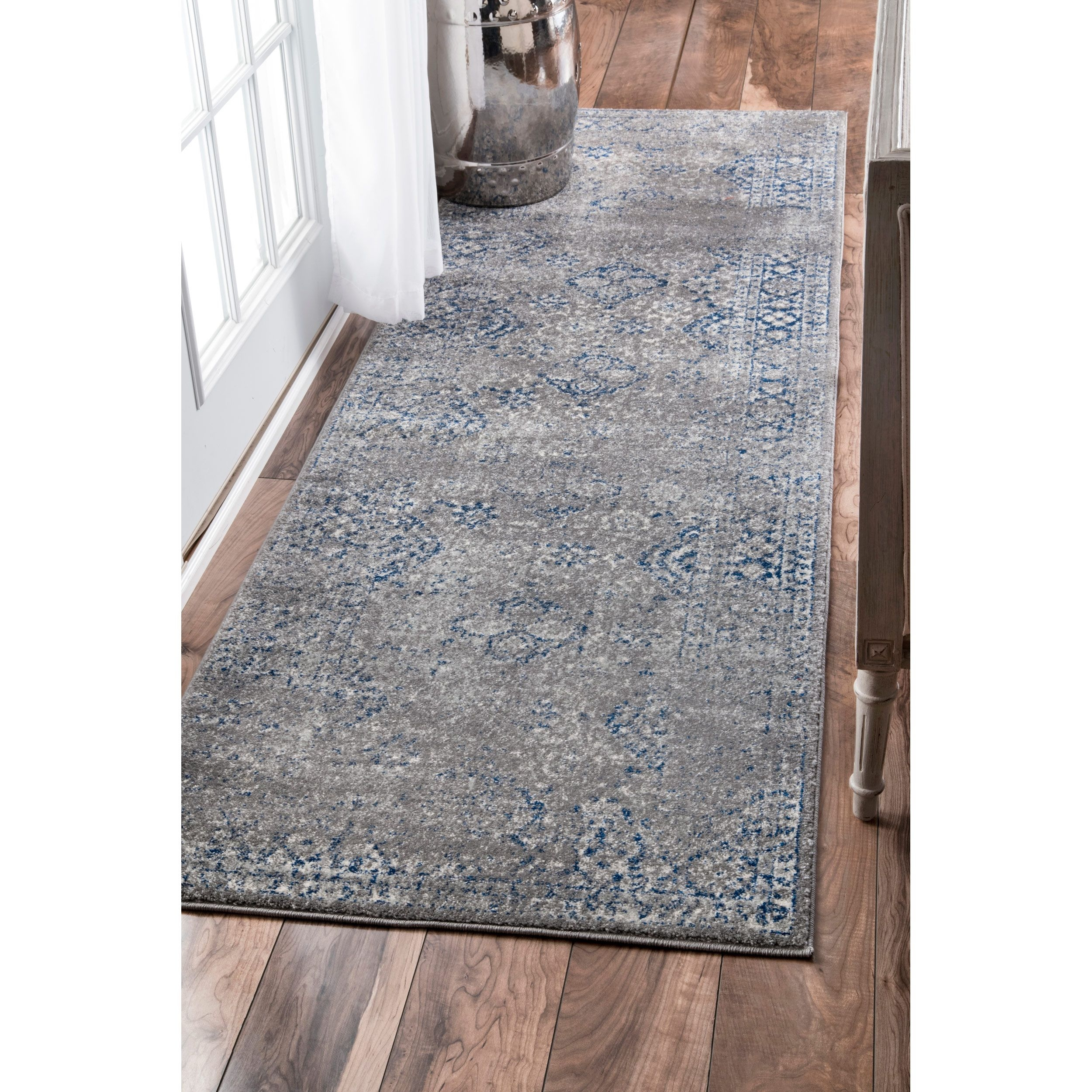 kitchen accent rugs sinks lowes 20 inspirations of blue rug runners for hallways