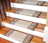 20 Photo of Stair Tread Rug Holders
