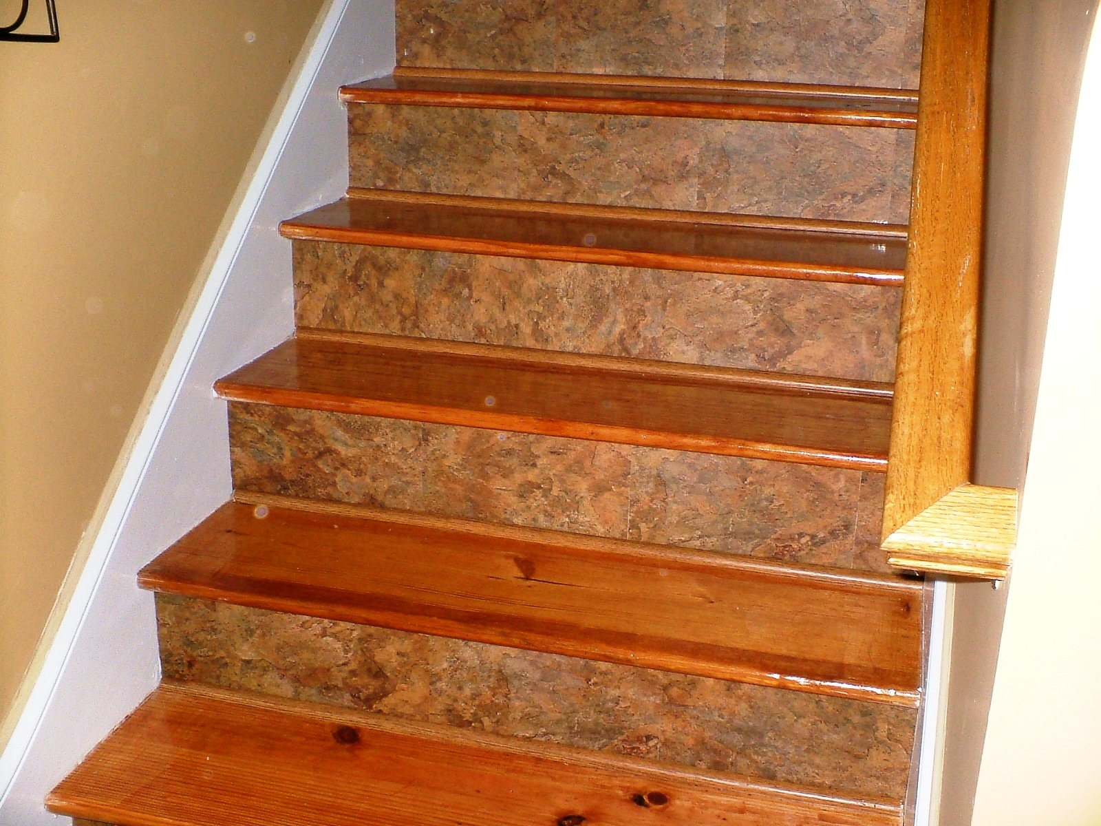 20 Best Ideas of Stair Tread Carpet Tiles