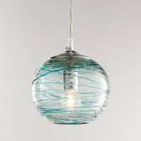 15 Photo of Turquoise Blue Glass Pendant Lights
