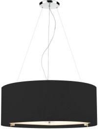 15 Best Ideas of Black Drum Pendant Lights