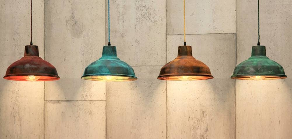 Coloured Pendant Lights