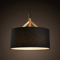 15 Best Ideas of Black Drum Pendant Lights