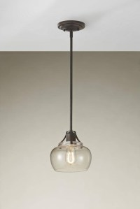 15 Ideas of Rustic Clear Glass Pendant Lights