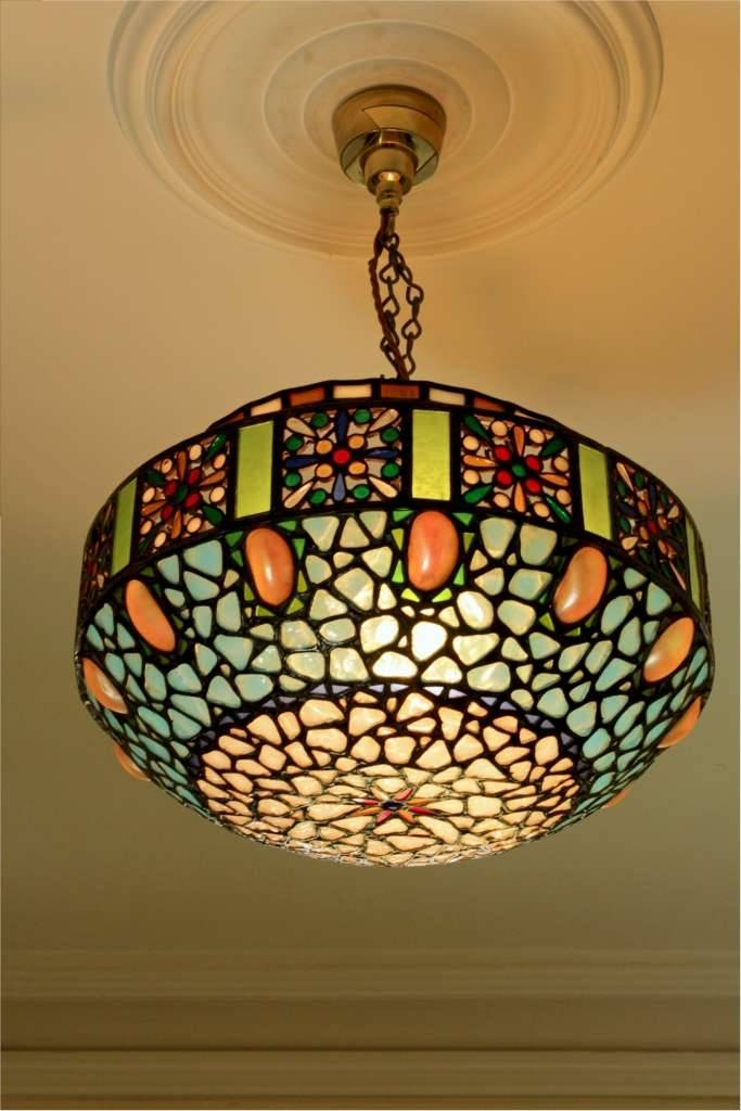 15 Best of Coloured Glass Lights Shades