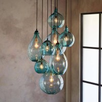 15 Best Ideas of Cluster Glass Pendant Lights Fixtures