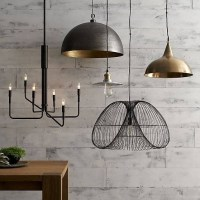 15 Collection of Crate and Barrel Pendants
