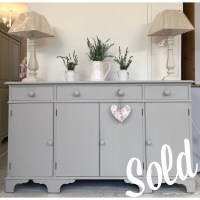 15 Inspirations of Grey Painted Sideboards