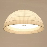 15 Ideas of Fabric Pendant Lighting