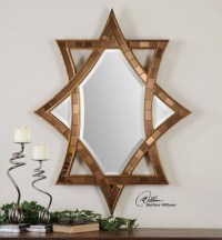 15 Collection of Small Diamond Shaped Mirrors