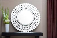 15 Ideas of Round White Wall Mirrors