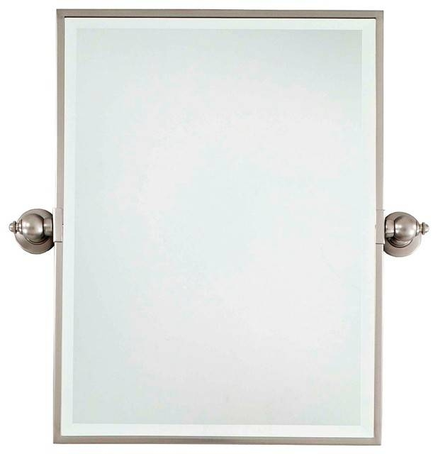 15 Collection of Brushed Nickel Wall Mirrors