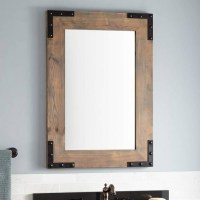 15 Best Ideas of Cherry Wood Framed Wall Mirrors