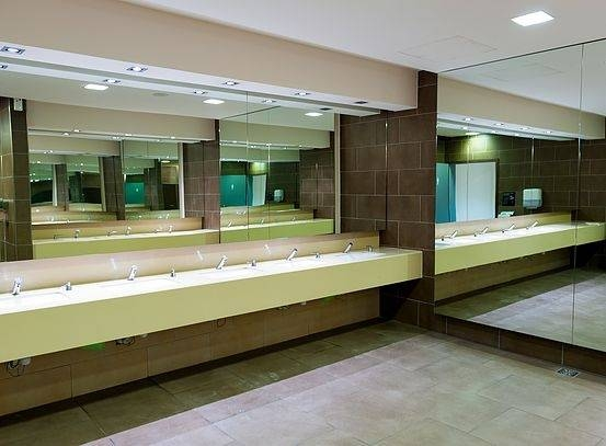 15 Best Ideas of Commercial Bathroom Mirrors