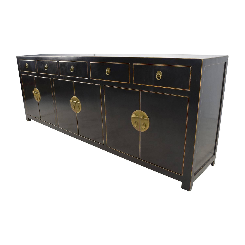 15 Best Ideas of Black Sideboard Cabinets