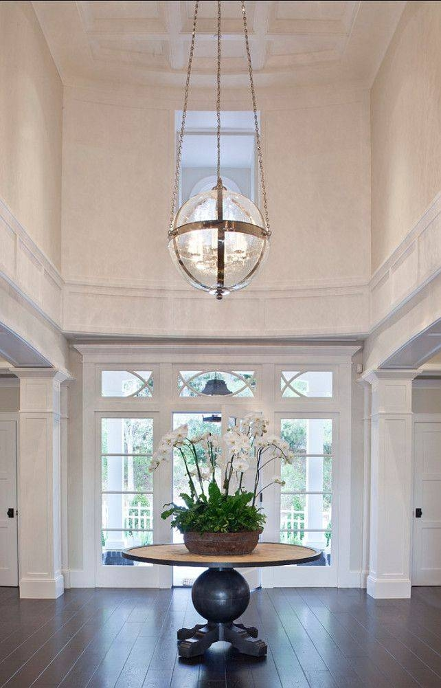 blown glass pendant lighting for kitchen design my own 15 best ideas of entry foyer