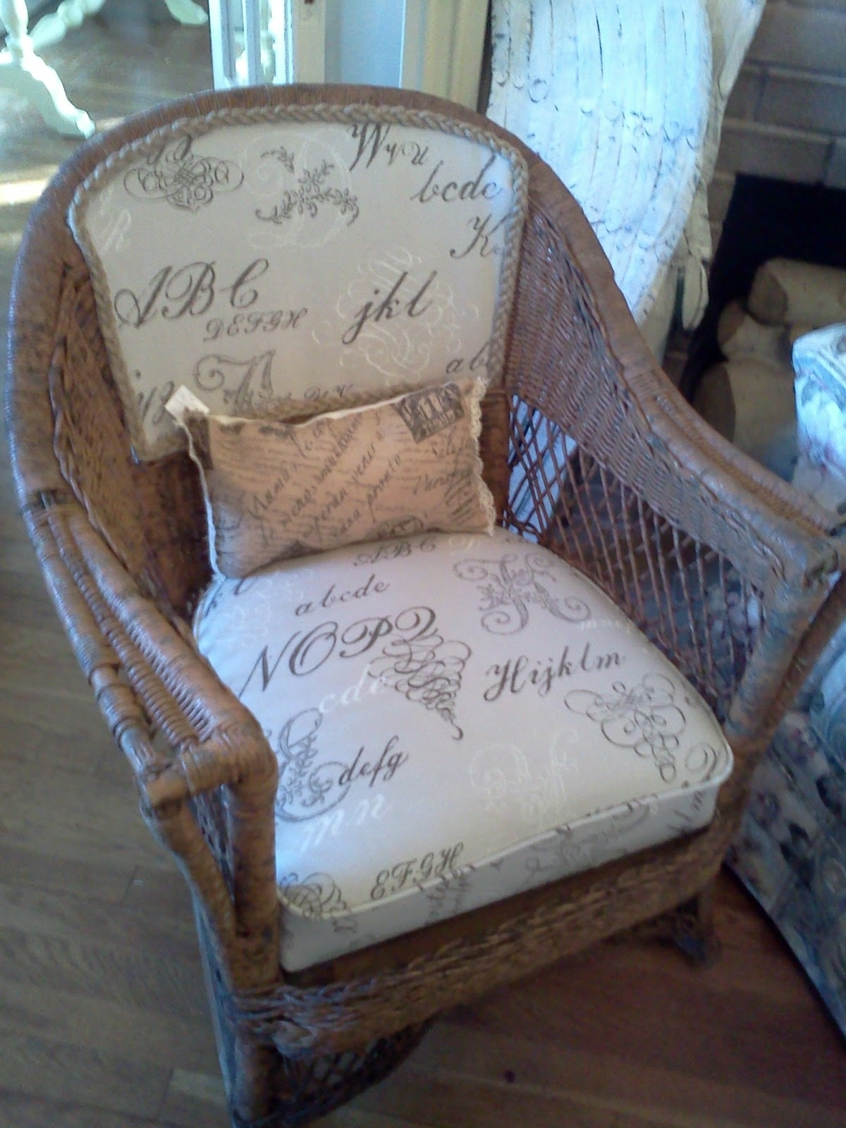 antique platform rocking chair with springs small cushions 15 best collection of wicker chairs