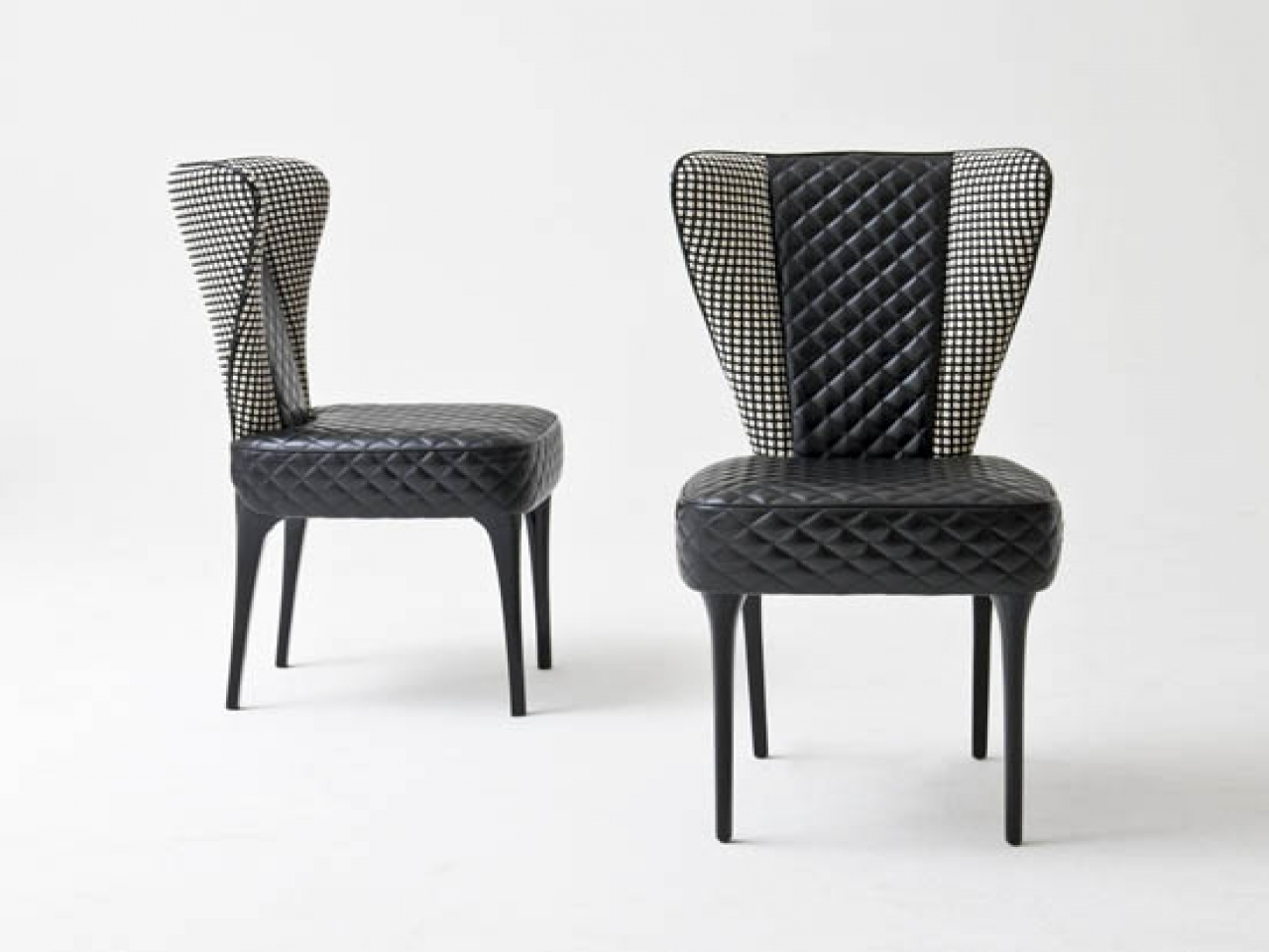 Quilted Dining Room Chairs
