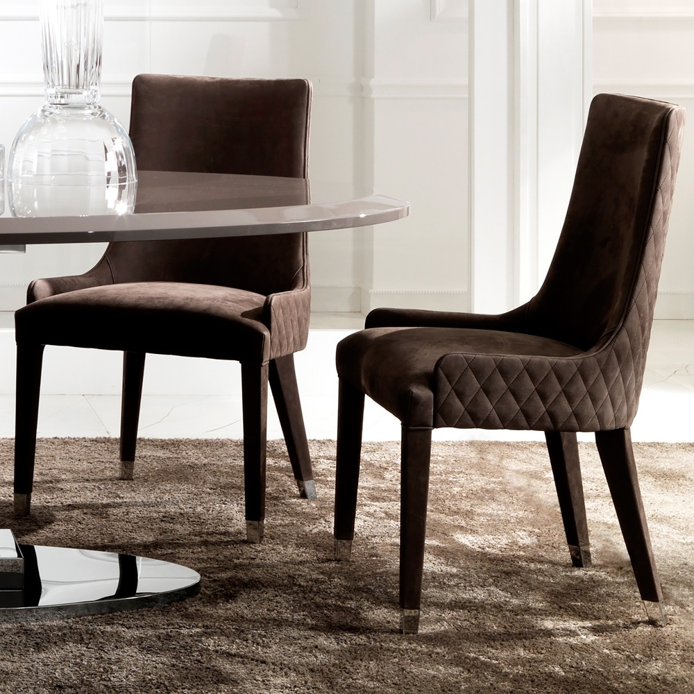 20 Best Collection of Quilted Black Dining Chairs