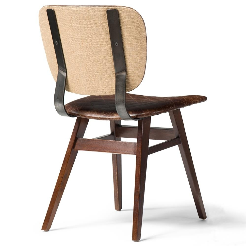 20 Photo of Quilted Brown Dining Chairs