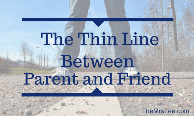 Line between friends and dating