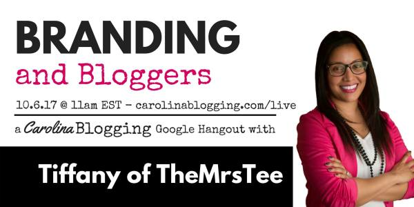 Branding & Blogging Google LIVE Carolina Blogging