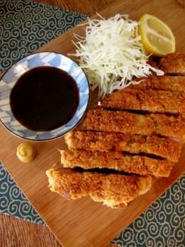 Tonkatsu トンカツ (Crumbed Pork Cutlet)