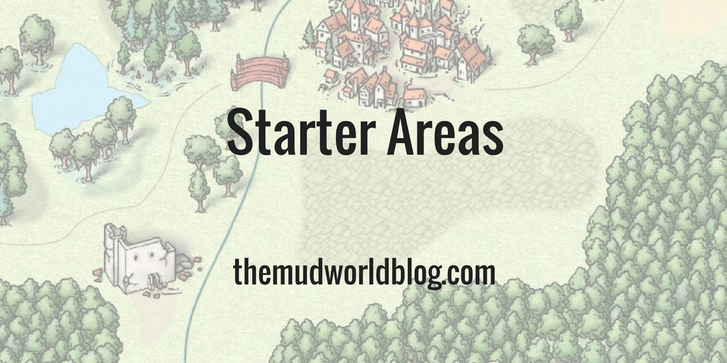 Creating Fantasy Roleplaying Game Starting Areas