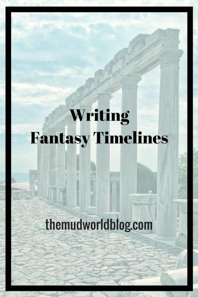 Write Fantasy Timelines