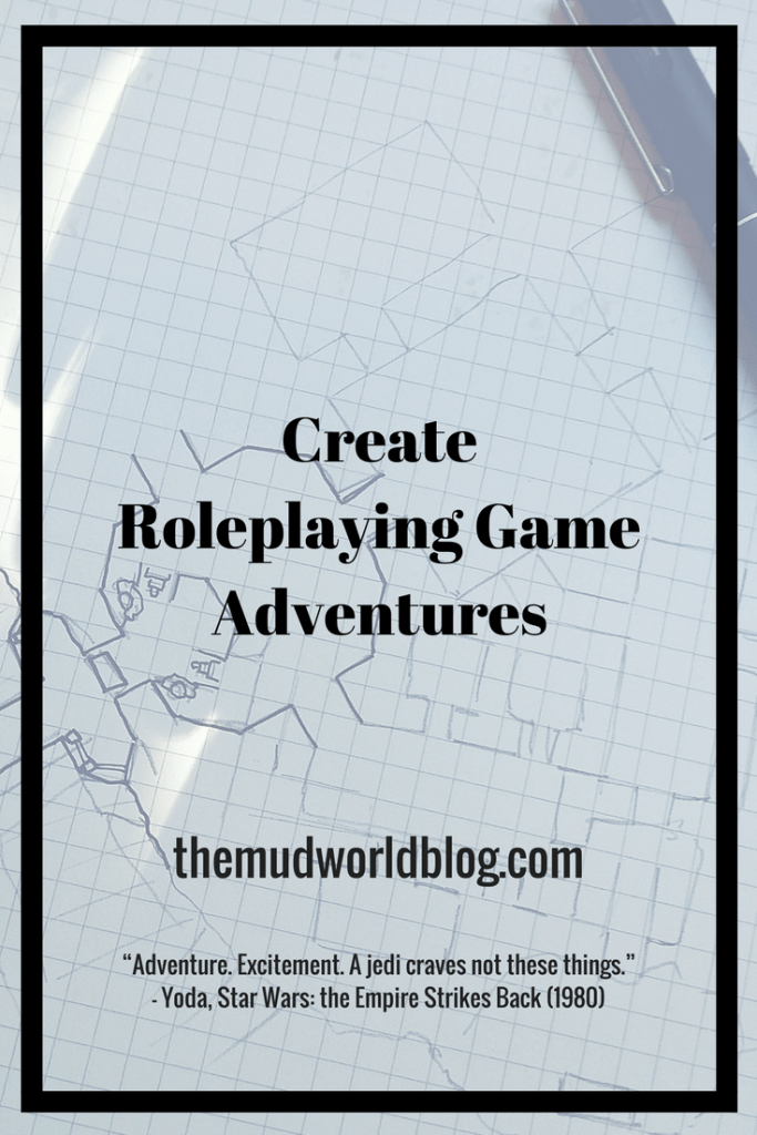 Create Roleplaying Fantasy Game Adventures