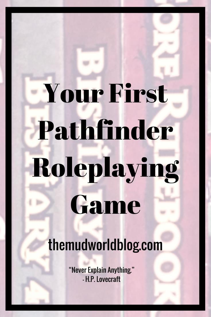 How to start your Pathfinder roleplaying game