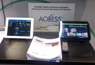 ACCESS Media Gateway Solution - Protected content sharing to CE devices