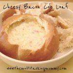 Cheese & Bacon Cob Loaf