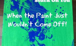Stuck On You: When the Paint Just Wouldn't Come Off