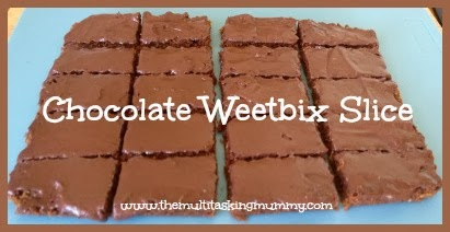 easy weetbix slice