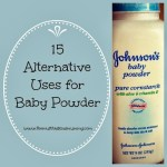 15 Alternative Uses for Baby Powder #MummyMondays