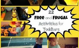 22 Free and Frugal Activities for Toddlers #MummyMondays