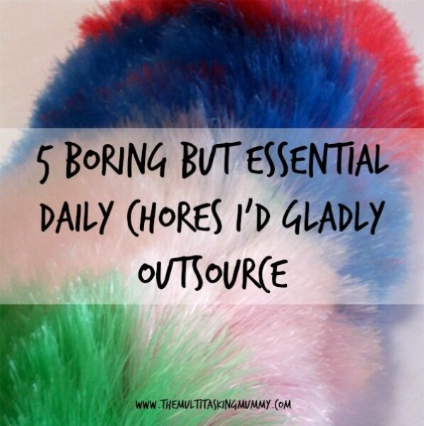 chores to outsource