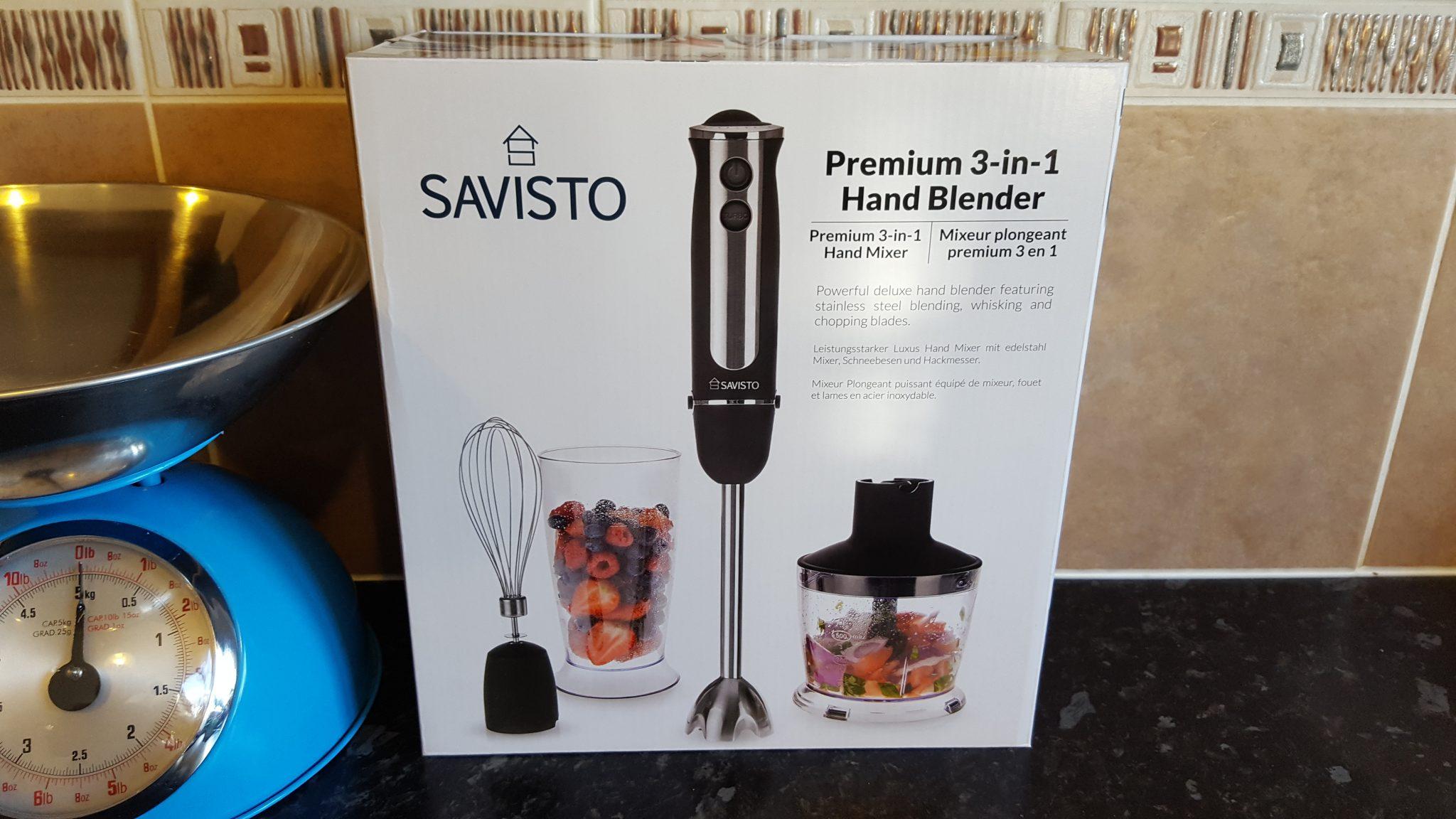 Savisto Premium 3 in 1 Hand Blender