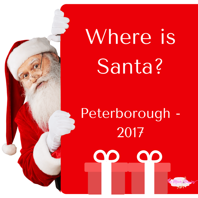 Where to see Santa in Peterborough 2017