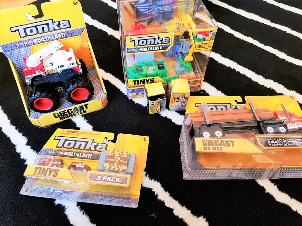 Selection of various Tonka Toys