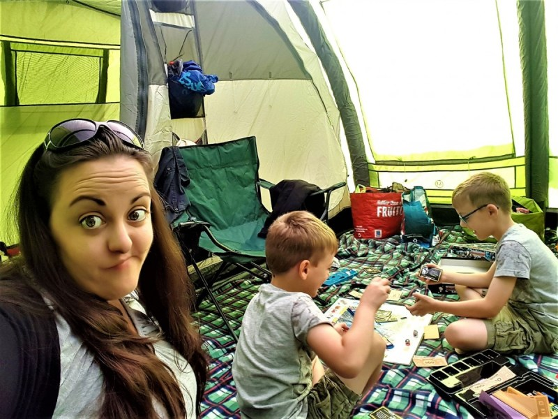 Sleeping bags, kettles and Backpack tents