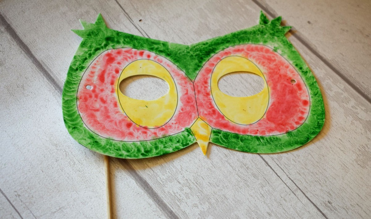 Owl Mask, Creature Crafts #BostikBlogger