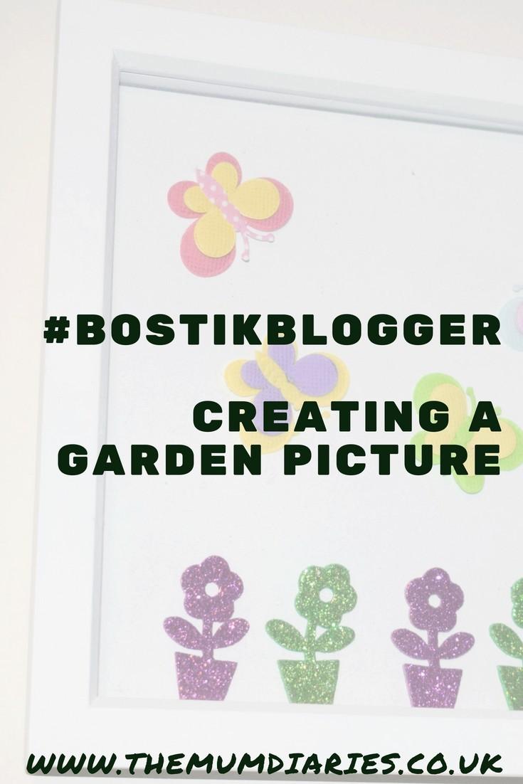 #BostikBlogger July Garden