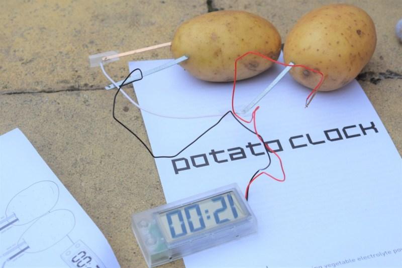 Summer Challenges with Varta – Potato Clock – #PoweringTheMoment