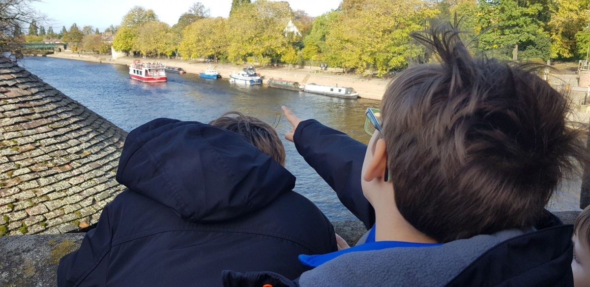 Boat spotting in York