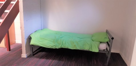 a Single bed at YHA York
